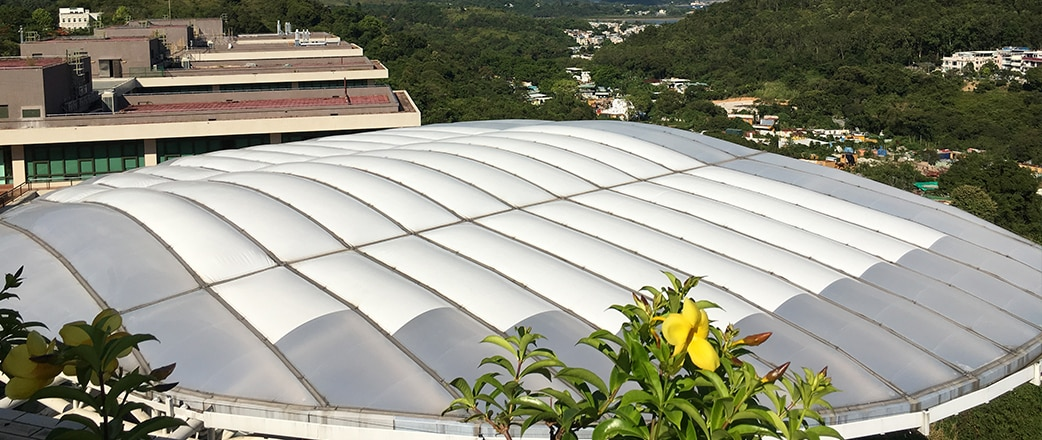 Texlon ETFE Canopy Roof at the Education University of Hong Kong