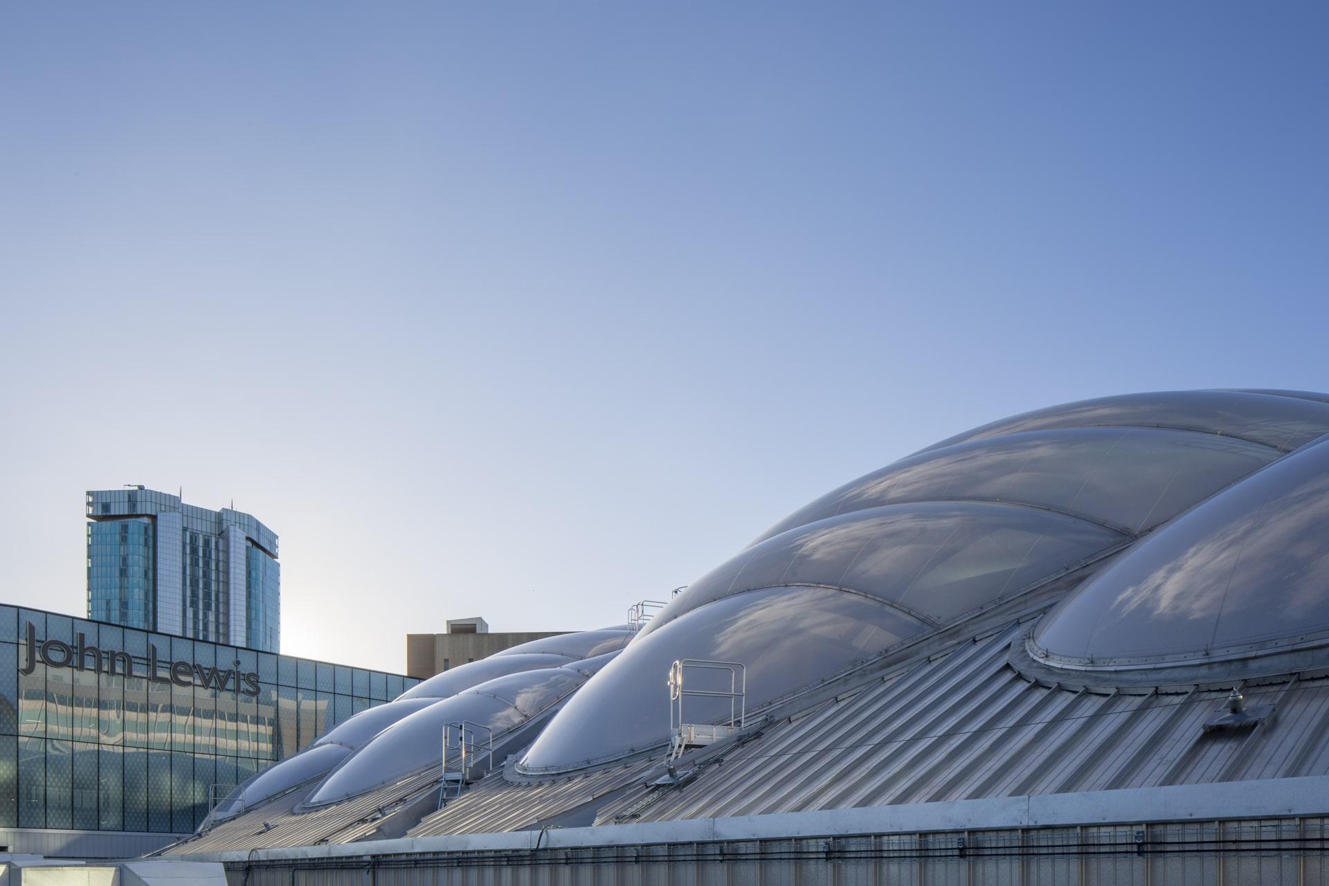 Das Texlon® ETFE Atrium - Außenansicht.