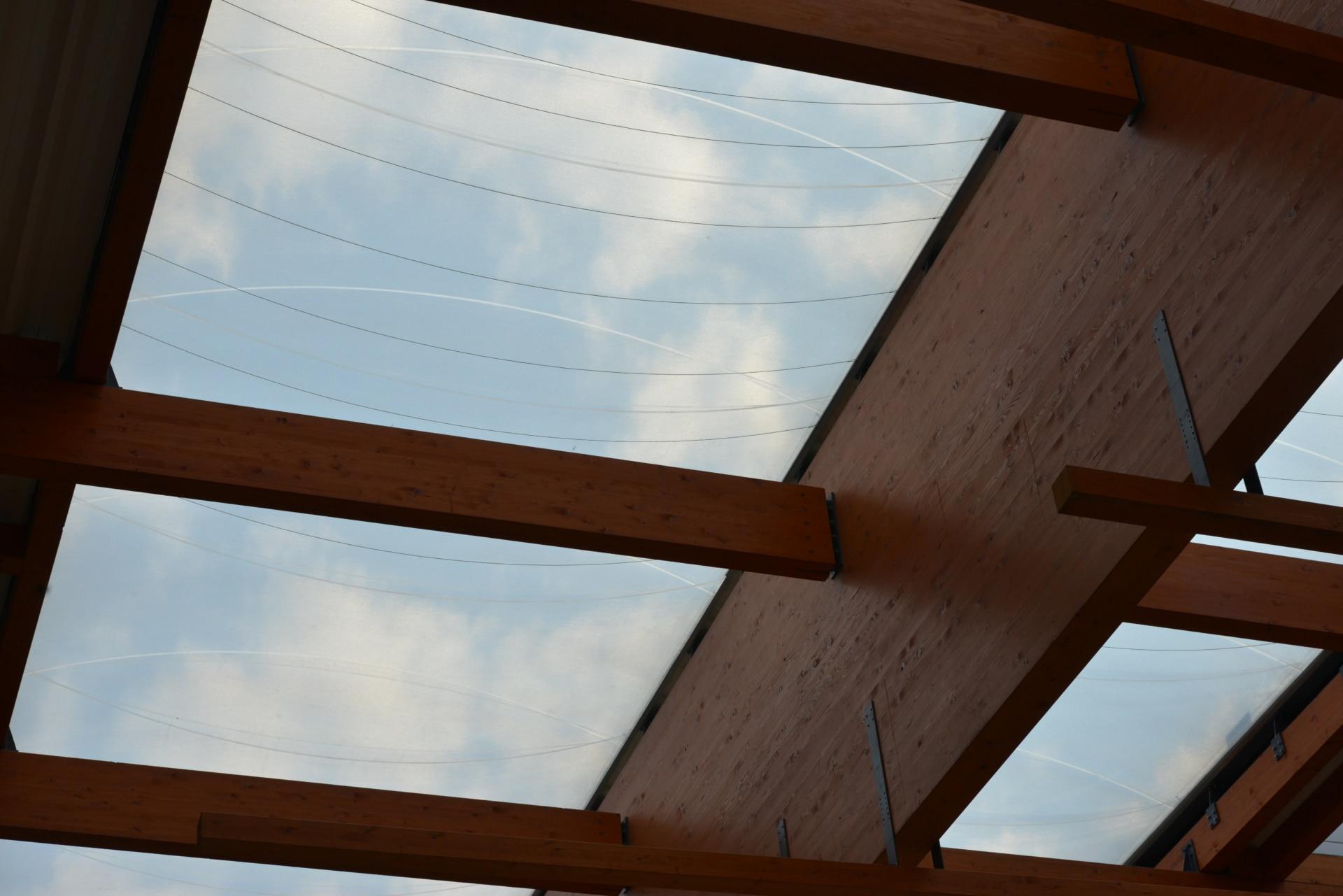 ETFE is UV-transparent