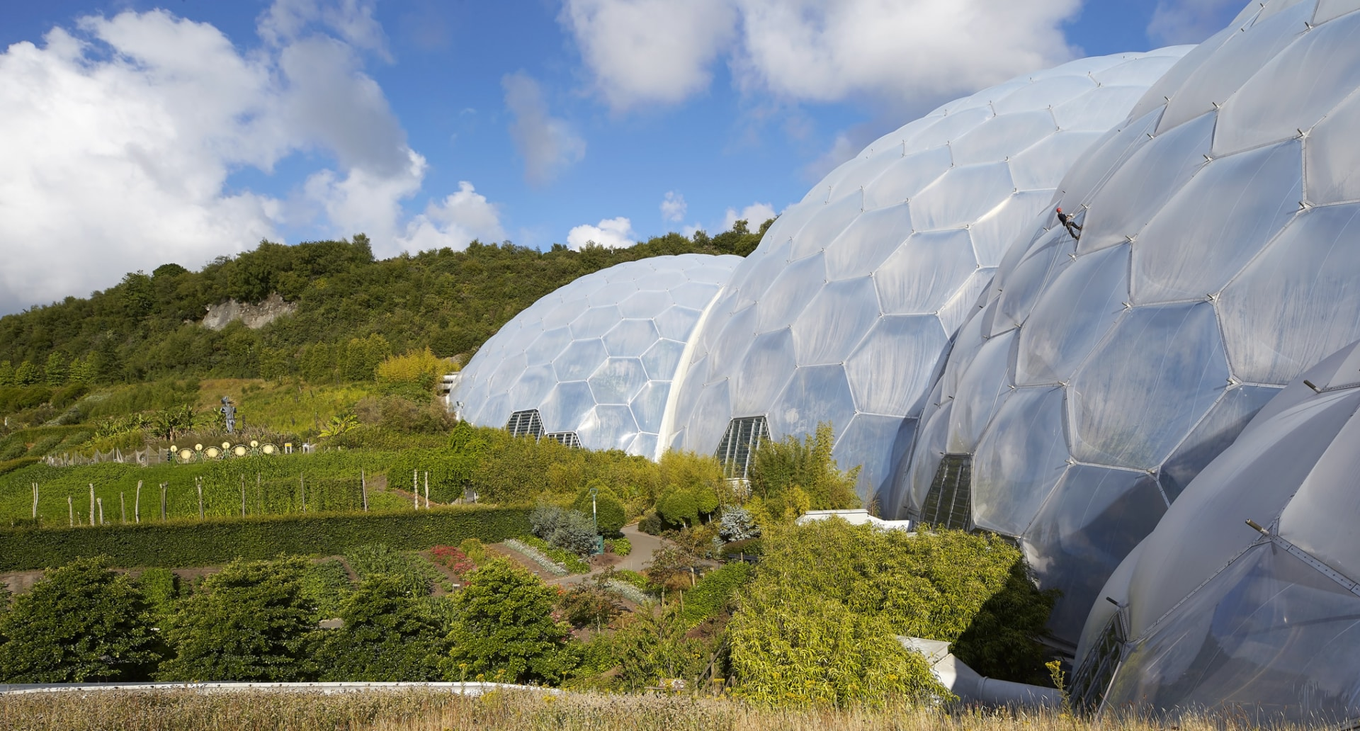The Eden Project, located in Cornwall UK, is a one-of-a-kind project that set the tone for the next generation of sustainable botanical and zoo projects.