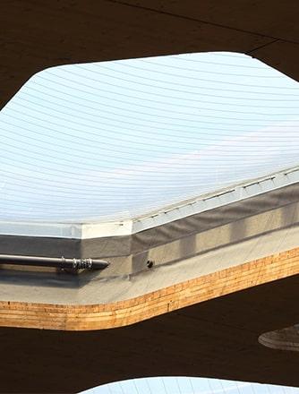 Texlon® ETFE-Dach betont natürlichen Aspekt des Elefantenparks.