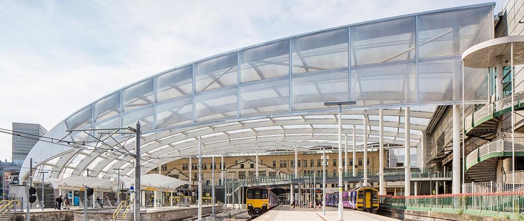 Refurbished Manchester Victoria Station