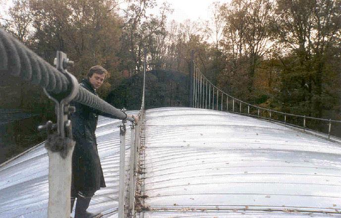 Unser erstes Projekt, die Mangrovenhalle im Zoo Arnheim, Niederlande, wurde 1982 gebaut.