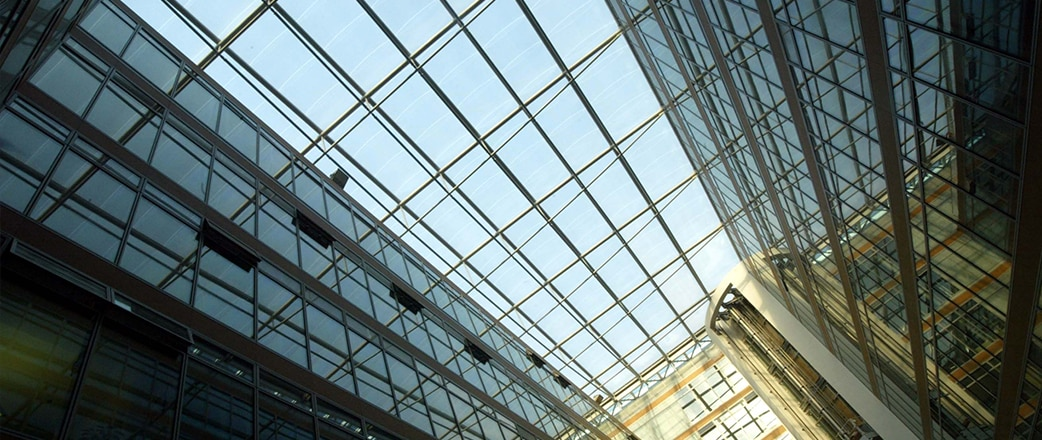 Redeveloping DomAquarée with Texlon® ETFE System instead of a previous planned glass roof.
