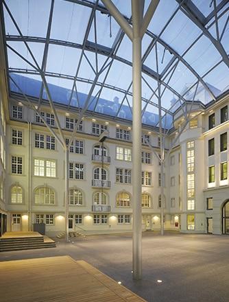 A translucent Texlon® ETFE atrium.