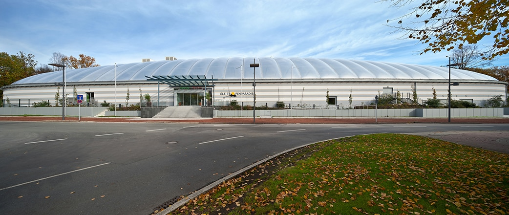 Texlon® ETFE foils are incredibly transparent and allow high levels of light transmission into buildings.