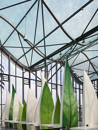 Texlon® ETFE ist eines der ökologischsten und nachhaltigsten Materialien auf dem Markt.