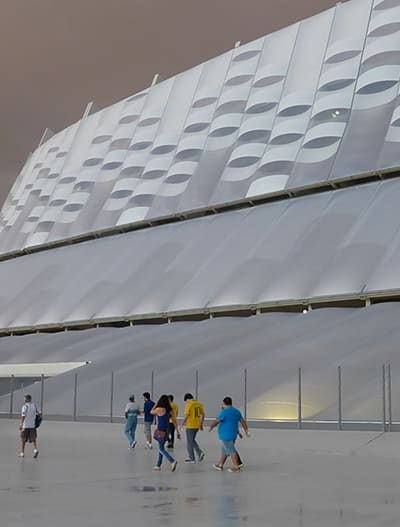 Arena Pernambuco is certified according to LEED silver requirements.