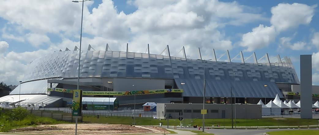 Boasting acoustic transparency and minimal support structure needs, Texlon® ETFE is an ideal enveloping choice for large scale buildings such as stadiums.