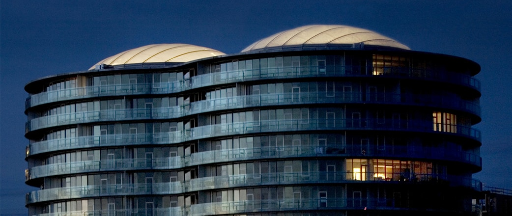 The two roofs cover an impressive area of 1,040 m2 and are constituted of a two-layer Texlon® ETFE system.