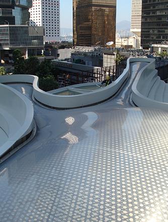 Print pattern on L4 ETFE Skylight.